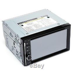 For Jeep Wrangler Compass Patriot Car CD DVD Radio Bluetooth Stereo+Rear Camera