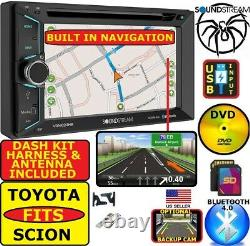 For Toyota & Scion Gps Navigation Bluetooth Usb Sd Aux Car Radio Stereo System