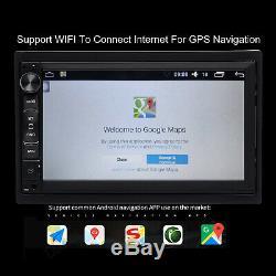 Fur Estereo De Pantalla Para Coche Carro Android GPS USB Subwoofer Con CáMara+Ca