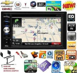 GM CAR-TRUCK-VAN-SUV GPS NAVIGATION SYSTEM Bluetooth CD DVD USB CAR Radio Stereo