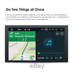 HIZPO 10.1 Smart Android 10 4G WiFi Double 2DIN Car Radio Stereo GPS Bluetooth