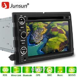 JUNSUN 7 Car Stereo Radio GPS Navigation For Ford F150 Focus Expedition Mustang