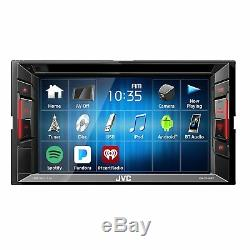 JVC KW-V25BT 6.2 Touchscreen Double Din BLUETOOTH DVD/CD/AM/FM Car Stereo