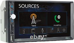 Jensen 7 inch LED Digital Media Touch Screen Double Din Car Stereo Bluetooth USB