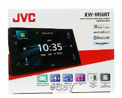 Jvc Kw-m56bt 6.8 Digital Multimedia Stereo Apple Car Play & Android Auto New