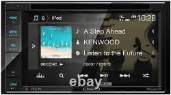 Kenwood 6.2 Double Din Touchscreen DVD CD Bluetooth USB iPod Android Car Stereo