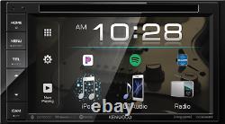 Kenwood DDX26BT Double DIN SiriusXM Ready Bluetooth In-Dash DVD/CD Car Stereo