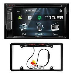 Kenwood Ddx24bt 6.2 Touchscreen Car DVD Bluetooth Stereo + Rear Camera