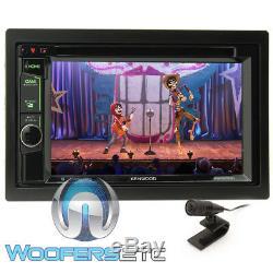 Kenwood Ddx575bt 6.2 Car Stereo CD DVD Bluetooth Waze Youtube Pandora Spotify