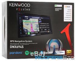 Kenwood Excelon Dnx694s 6.8 Gps DVD CD Usb Bluetooth Navigation Hd Radio Stereo