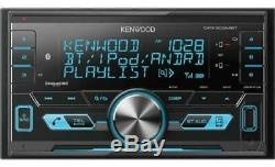 Kenwood Fits 95-02 Gm Truck/suv Usb Bluetooth Double Din Car Stereo Pkg Opt XM