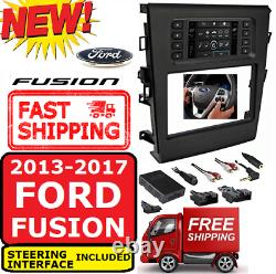 Metra 99-5841B FORD FUSION 2013-17 DOUBLE DIN CAR RADIO STEREO DASH KIT WithA/C