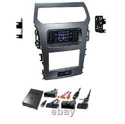 Metra 99-5847CH FORD EXPLORER 2011-15 DOUBLE DIN CAR RADIO DASH KIT With A/C