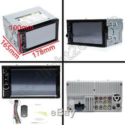 Mirror Link For GPS Double 2Din 6.2 Car Stereo+Backup Camera Touch Screen Radio
