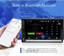 Mirror Link For GPS Double 2Din 7 Car Stereo + Backup Camera Touch Screen Radio
