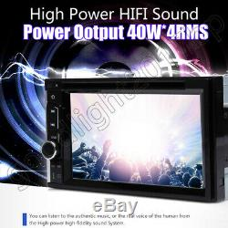 Mirror Link for GPS Car Stereo DVD CD Radio HD Player Bluetooth with Backup Camera