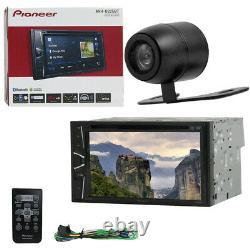 Pioneer AVH-G225BT Double Din 6.2 DVD BT/Remote Car Stereo (FREE BACKUP CAMERA)