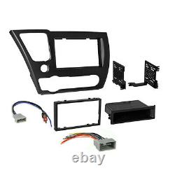 Pioneer Apple CarPlay Double DIN Car Stereo Dash Kit for 2013-2015 Honda Civic