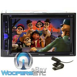 Pioneer Avh-200ex 6.2 Tv DVD CD Mp3 Usb Ipod Bluetooth Equalizer Car Stereo New