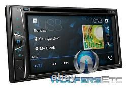 Pioneer Avh G225bt 6.2 DVD CD Usb Aux Bluetooth 200w Amplifier Car Stereo New