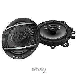Pioneer Double DIN DVD USB CD Radio 7, 2 Pioneer 6.5 Car Speakers