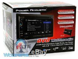 Power Acoustik Pd621xb 6.2 CD DVD Usb Aux Bluetooth Sirius XM Ready Car Stereo