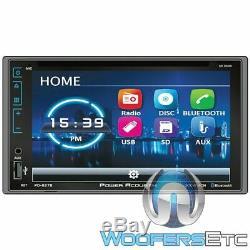 Power Acoustik Pd627b 6.2 CD DVD Bluetooth Usb Aux 300w Amplifier Car Stereo