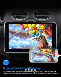 Pumpkin 8 Core Double Din 10.1 Android 10.0 Car Radio Stereo 4GB 64GB GPS WIFI