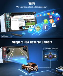 Pumpkin Octa-Core Android 8.0 Car GPS DVD Player Stereo Double Din DAB OBD2 WIFI