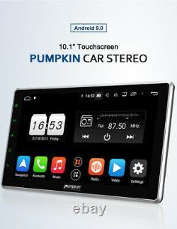 Pumpkin Octa-Core Double 2 Din 10.1 Android 9.0 Car Radio Stereo RAM4GB GPS FM