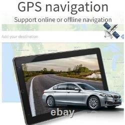 Rotatable 10.1'' Android 10.1 Touch Screen Car Stereo Radio GPS Wifi Double 2DIN