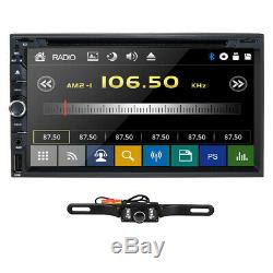 Sony CD Lens Double 2Din In Dash 7Car Stereo Radio DVD Player AUX BT TV MP3 Mic