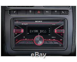 Sony DSX-B700 Double Din Digital Media Receiver Car Stereo Radio with SiriusXM