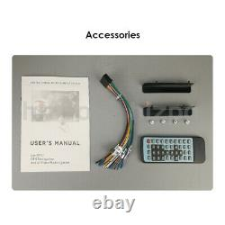 Sony Lens Double 2Din 7Car Stereo Radio DVD Player iPod Bluetooth TV MP3 Mic HD