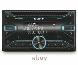 Sony WX-920BT, Double DIN CD/MP3 Bluetooth Car Stereo with Variable Color Display