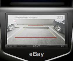 Sony XAV-AX5000, 7 Double Din Car Media Receiver Apple CarPlay / Android Auto
