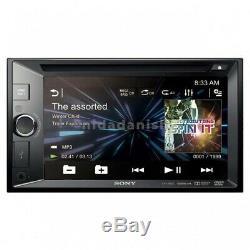 Sony XAV-W601 Double Din Car DVD Receiver 6.2 Monitor EQ USB Aux Stereo Radio