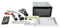 Soundstream VRN-65HB Double-DIN Bluetooth GPS/DVD/CD/MP3/AM/FM InDash with6.2 LCD
