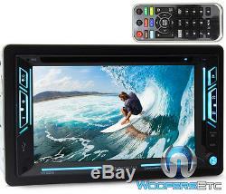 Soundstream Vr-63xb 6.2 Tv CD DVD Usb Aux Bluetooth Sirius XM Ready Car Stereo
