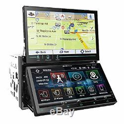 Soundstream Vrn-dd7hb 2din 7 Dual Display Car Gps DVD Mp3 CD Receiver Bluetooth