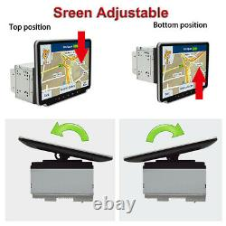 Touch Screen 10.1in Double Din Car Radio Stereo Video MP5 Player Android 9.1 GPS
