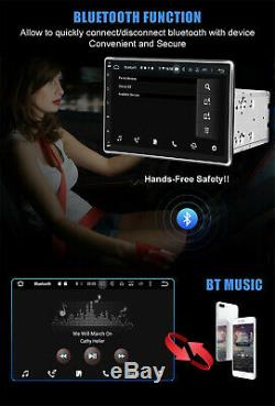 US 10.1 Double 2 DIN Car Radio Android 9.1 Stereo Vehicle Audio WIFI GPS +CAM