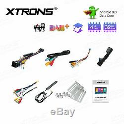 XTRONS 7 Android 9.0 Double 2Din Car Stereo Radio GPS Wifi 4G DAB+ 4+32G 8-Core