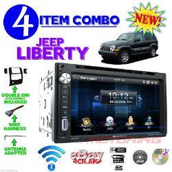02 03 04 05 06 07 Jeep Liberty Écran Tactile Avec Lecteur-cd Usb Autoradio Stéréo