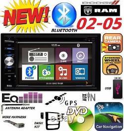 02 03 04 05 Dodge Ram Gps DVD Système De Navigation Bluetooth Vidéo Stéréo Voiture Radio