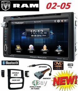 02 03 04 05 Ram Radio À Écran Tactile Bluetooth CD DVD Usb Aux Bt Radio Stéréo Pour Voiture