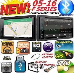 04-16 Ford F150 / 250/350/450/550 Gps Navigation CD DVD Usb Radio Stéréo Bluetooth