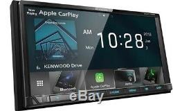 04-17 Ford F & E Series Kenwood Navigation D'apple Carplay Android Auto Car Stereo
