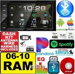06 07 08 09 10 Kenwood Dodge Ram Radio Stéréo Kit D'installation Double Din