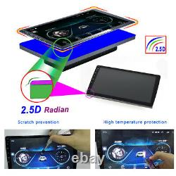 10.1 Android9.1 Voiture Stéréo Gps Navi Mp5 Player Double 2din Wifi Quad Core Radio